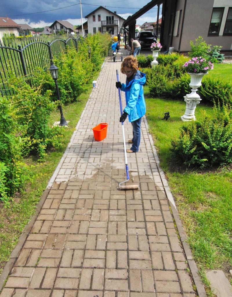 Гидрофобизаторы для тротуарной плиткой грунтовка бетоноконтакт knauff